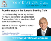 Home Sorrento Bowling Club